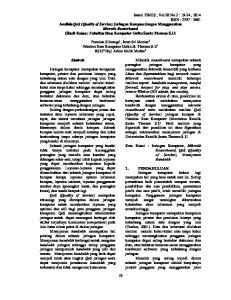 Parasian Silitonga 1, Irene Sri Morina 2 Fakultas Ilmu Komputer Unika St. Thomas S.U 1 RSUP Haji Adam Malik Medan 2
