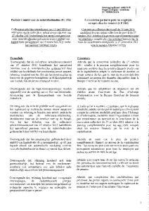 Paritair Comité voor de notarisbedienden (pc 216) Commission paritaire pour les employés occupés chez les notaires (CP 216)
