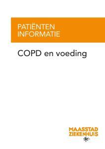 PATIËNTEN INFORMATIE. COPD en voeding