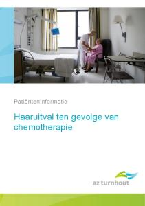 Patiënteninformatie. Haaruitval ten gevolge van chemotherapie