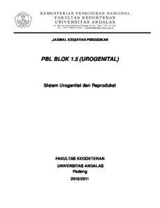 PBL BLOK 1.5 (UROGENITAL)