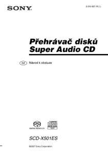 Přehrávač disků Super Audio CD