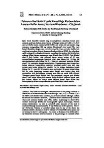 Pelarutan Besi Selektif pada Korosi Baja Karbon dalam Larutan Buffer Asetat, Natrium Bikarbonat - CO 2 Jenuh