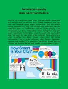 Pembangunan Smart City Septo Indarto (Team Double S)