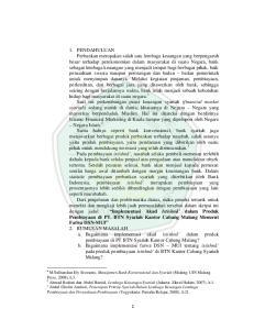 Pembiayaan dan Perusahaan Pembiayaan (Yogyakarta: Pustaka Belajar, 2008), h.21
