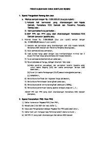 PENATAUSAHAAN DANA BANTUAN BOSKO. 5) Surat penawaran harga, dengan dilampiri foto copy :