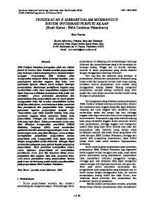PENDEKATAN E-LIBRARY DALAM MEMBANGUN SISTEM INFORMASI PERPUSTAKAAN (Studi Kasus : SMA Cendana Pekanbaru)