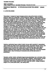 PENDIDIKAN PEMUSTAKA DI PERPUSTAKAAN STAIN PEKALONGAN (Junaeti, S.Sos)