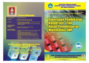 Penerapan Pendekatan Kooperatif STAD dalam Pembelajaran Matematika SMP