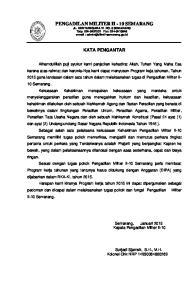 PENGADILAN MILITER II - 10 SEMARANG