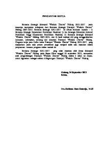 PENGANTAR KETUA. Malang, 24 September 2012 Ketua, Drs. Stefanus Alam Sutardjo, M.Si