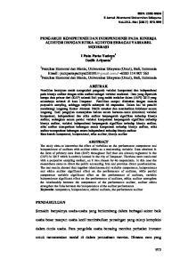 PENGARUH KOMPETENSI DAN INDEPENDENSI PADA KINERJA AUDITOR DENGAN ETIKA AUDITOR SEBAGAI VARIABEL MODERASI. I Putu Parta Yadnya 1 Dodik Ariyanto 2