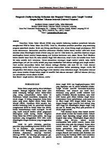 Pengaruh Ovality terhadap Kekuatan dan Ekspansi Volume pada Tangki Toroidal dengan Beban Tekanan Internal (Internal Pressure)