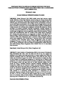 PENGARUH PENATALAKSANAAN INISIASI MENYUSUI DINI (IMD) TERHADAP WAKTU PENGELUARAN ASI DI RSUD PROF. DR. H. ALOEI SABOE KOTA GORONTALO, Wirdawty S