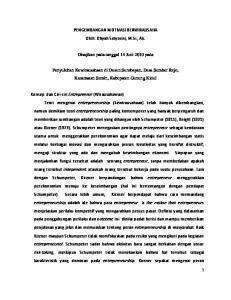 PENGEMBANGAN MOTIVASI BERWIRAUSAHA Oleh: Dhyah Setyorini, M.Si., Ak. Disajikan pada tanggal 14 Juni 2010 pada