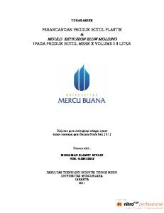 PENGESAHAN SKRIPSI. Jakarta, 27 Juni ( Ariosuko, MT ) ( DR. Ir. Abdul Hamid, M.Eng )