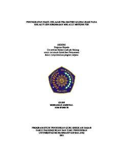 PENINGKATAN HASIL BELAJAR PKn MATERI GLOBALISASI PADA KELAS IV SDN KROMASAN MELALUI METODE P3D