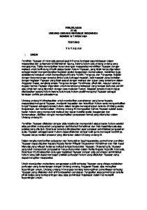 PENJELASAN ATAS UNDANG-UNDANG REPUBLIK INDONESIA NOMOR 16 TAHUN 2001 TENTANG Y A Y A S A N