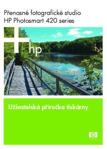 Přenosné fotografické studio HP Photosmart 420 series