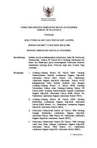 PERATURAN MENTERI KESEHATAN REPUBLIK INDONESIA NOMOR 39 TAHUN 2013 TENTANG SUSU FORMULA BAYI DAN PRODUK BAYI LAINNYA DENGAN RAHMAT TUHAN YANG MAHA ESA
