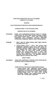PERATURAN PEMERINTAH REPUBLIK INDONESIA NOMOR 25 TAHUN 2009 TENTANG PAJAK PENGHASILAN KEGIATAN USAHA BERBASIS SYARIAH