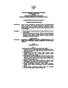 PERATURAN PEMERINTAH REPUBLIK INDONESIA NOMOR 4 TAHUN 2006 TENTANG PENYELENGGARAAN DAN KERJA SAMA PEMULIHAN KORBAN KEKERASAN DALAM RUMAH TANGGA