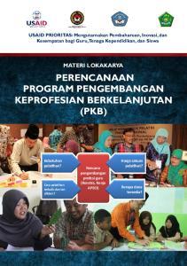 PERENCANAAN PROGRAM PENGEMBANGAN KEPROFESIAN BERKELANJUTAN (PKB)