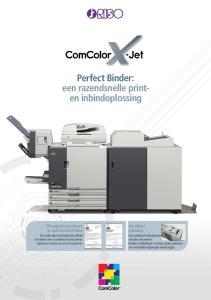 Perfect Binder: een razendsnelle printen inbindoplossing