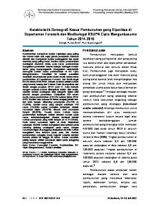 Perhimpunan Dokter Forensik Indonesia The Indonesian Association of Forensic Medicine