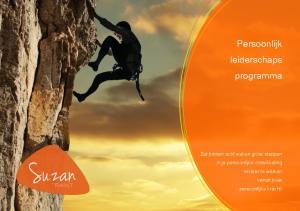 Persoonlijk leiderschaps programma