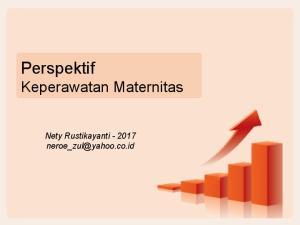 Perspektif Keperawatan Maternitas. Nety Rustikayanti