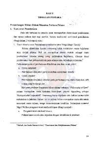 Pertimbangan Hakim Dalam Memutus Perkara Pidana 1. Teori-teori Pemidan'aan