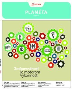 PLANÉTA #Jar Zodpovednosť je motorom výkonnosti. Fórum Spoločenská zodpovednosť firiem ako motor výkonnosti? Diskusia troch expertov
