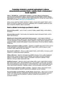 Podmínky získávání a uznávání způsobilosti k výkonu zdravotnického povolání lékaře, zubního lékaře a farmaceuta v České republice