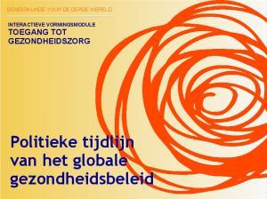 Politieke tijdlijn van het globale gezondheidsbeleid