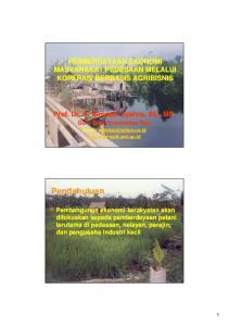 Potensi daerah yang berpeluang pengembangan tanaman hortikultura; tanaman perkebunan; usaha perikanan; usaha peternakan; usaha pertambangan; sektor in