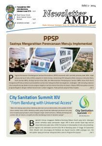 PPSP. City Sanitation Summit XIV From Bandung with Universal Access. Saatnya Mengarahkan Perencanaan Menuju Implementasi