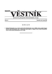 právních pfiedpisû Stfiedoãeského kraje
