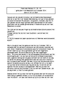 Preek over Matteüs 21: gehouden in de Westerkerk op 5 oktober 2014 door dr. Ch.J.A. Stam