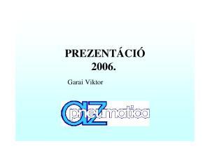 PREZENTÁCIÓ Garai Viktor