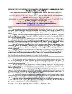 Prodi S1 Akuntansi, Fakultas Ekonomi dan Bisnis, Universitas Telkom 1 2