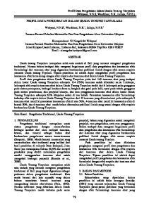 PROFIL DATA PENGOBATAN DALAM USADA TENUNG TANYALARA