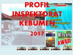 PROFIL INSPEKTORAT KEBUMEN