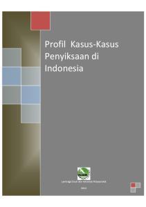 Profil Kasus-Kasus Penyiksaan di Indonesia