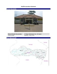 Profil Kecamatan Sukaresmi. Alamat Kantor Kecamatan. Peta Administratif