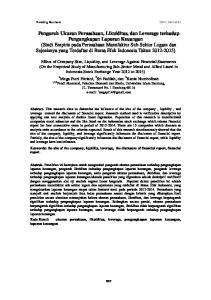 Prosiding Akuntansi ISSN: