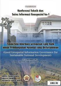 Prosiding. Konferensi Teknik dan Sains Informasi Geospasial ke-1