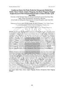 Prosiding Pendidikan Dokter ISSN: X
