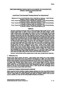 PROTEKSI SEISMIK DENGAN METALLIC DAMPER UNTUK BANGUNAN TINGKAT RENDAH SAMPAI SEDANG (137S)