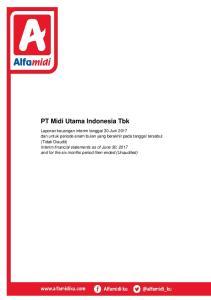 PT Midi Utama Indonesia Tbk